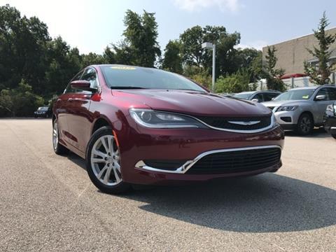 2015 Chrysler 200 for sale in Auburn, MA