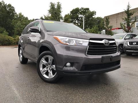 2015 Toyota Highlander for sale in Auburn, MA