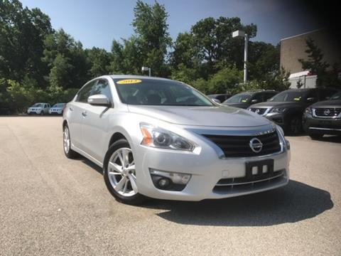 2013 Nissan Altima for sale in Auburn MA