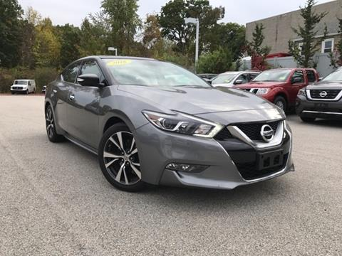 2016 Nissan Maxima for sale in Auburn MA