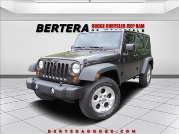 2013 Jeep Wrangler Unlimited for sale in Westfield, MA