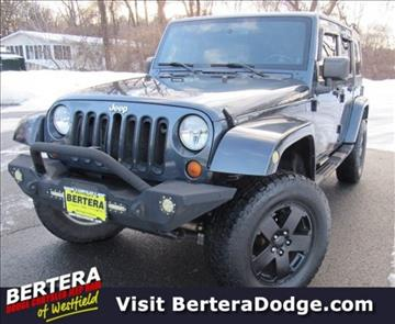 2007 Jeep Wrangler Unlimited for sale in Westfield, MA