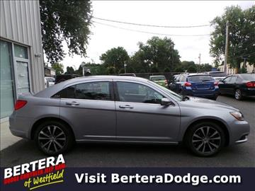 2014 Chrysler 200 for sale in Westfield, MA