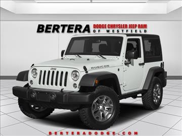 2017 Jeep Wrangler for sale in Westfield, MA