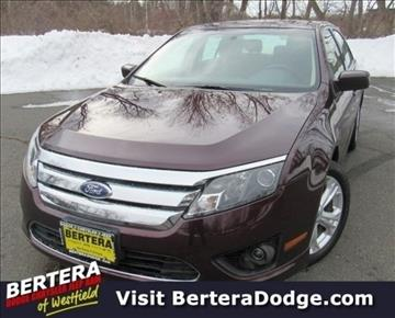 2012 Ford Fusion for sale in Westfield, MA