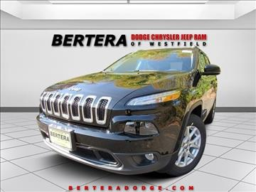 2017 Jeep Cherokee for sale in Westfield, MA