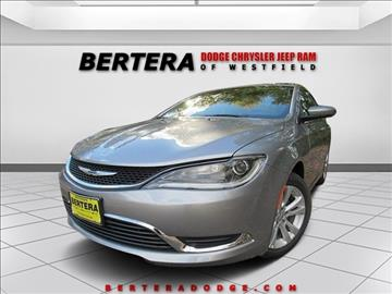 2016 Chrysler 200 for sale in Westfield, MA
