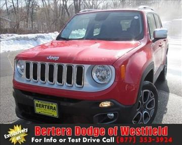 2016 Jeep Renegade for sale in Westfield, MA