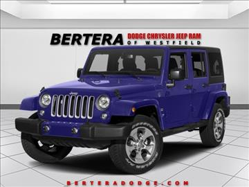 2017 Jeep Wrangler Unlimited for sale in Westfield, MA