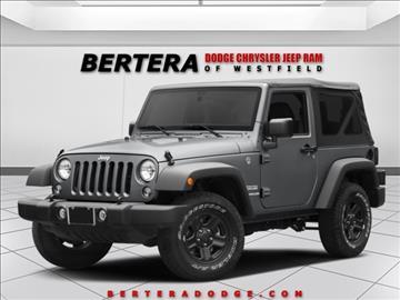 2017 Jeep Wrangler for sale in Westfield, MA