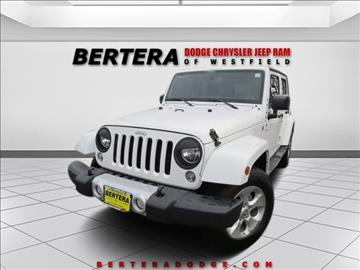 2015 Jeep Wrangler Unlimited for sale in Westfield, MA