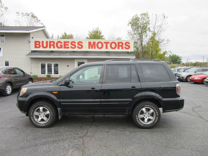 2007 honda pilot ex 3rd row 4x4 over 20 used 4x4 suv 39 s in stock in michigan city in. Black Bedroom Furniture Sets. Home Design Ideas
