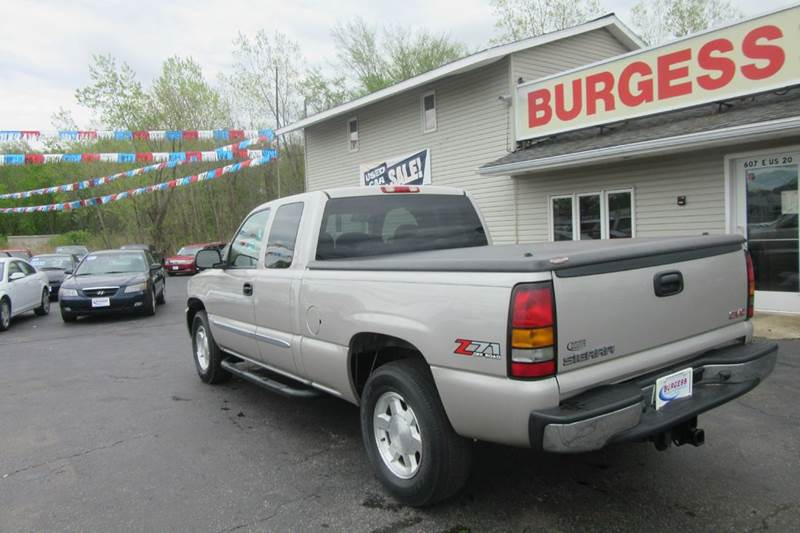2006 GMC Sierra 1500 Extended Cab Z71 4x4 -- $344.26 /month - Michigan City IN