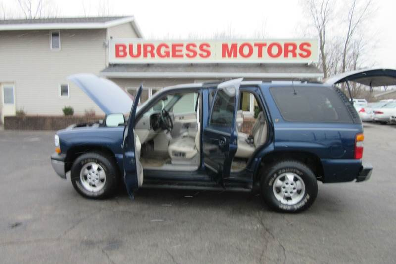 2001 chevrolet tahoe ls 4x4 3rd row seating in