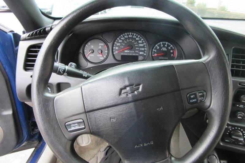 2004 Chevrolet Monte Carlo LS - Sun Roof  - Michigan City IN