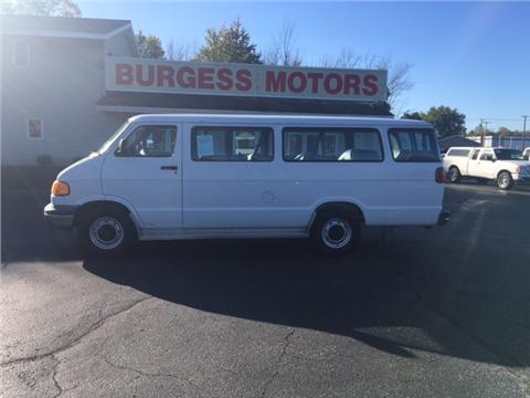 1999 Dodge Ram Wagon for sale in Michigan City, IN