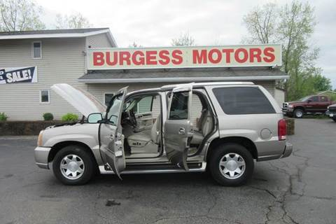 Burgess Motors Inc Used Cars Michigan City In Dealer