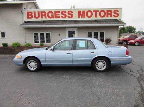 2000 Ford Crown Victoria for sale in Michigan City, IN