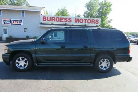 2003 GMC Yukon XL for sale in Michigan City, IN