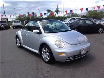 2003 Volkswagen New Beetle for sale in Kihei, HI
