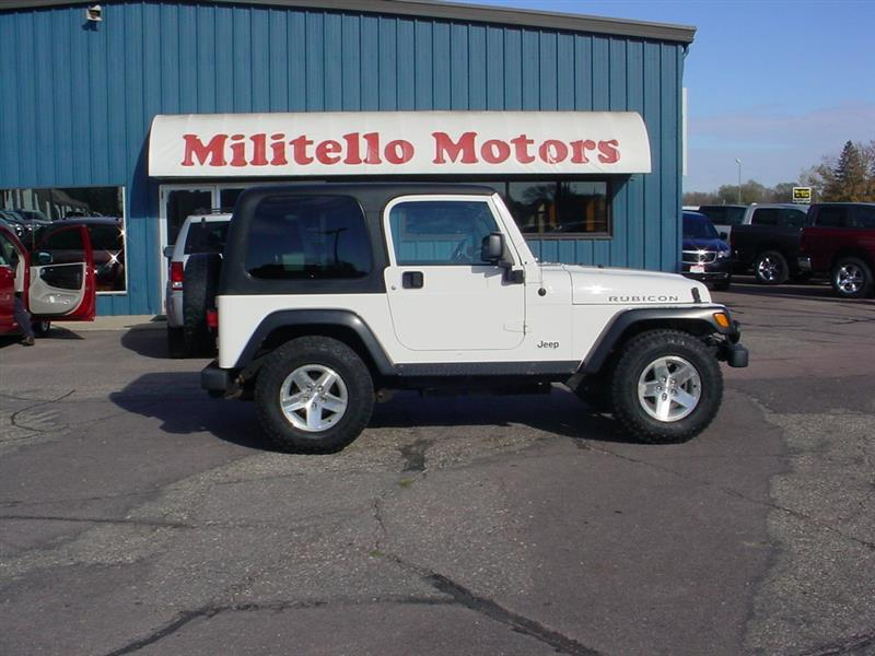 2003 jeep wrangler for sale for Militello motors fairmont mn