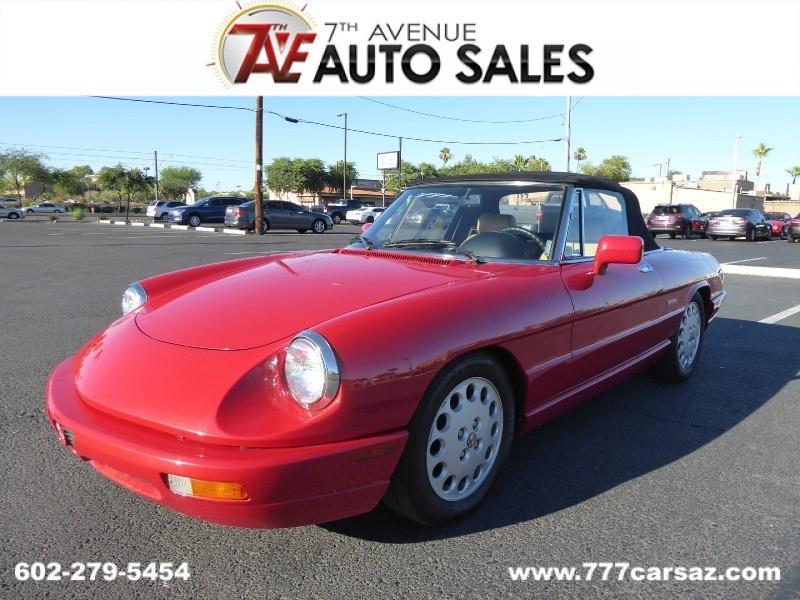 Alfa Romeo Spider For Sale In Cape Coral FL Carsforsalecom - 1991 alfa romeo spider for sale