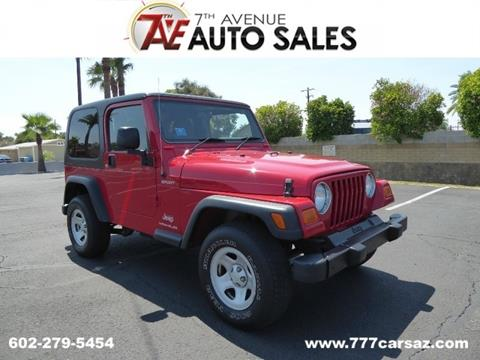2006 Jeep Wrangler For Sale in Phoenix, AZ - Carsforsale.com