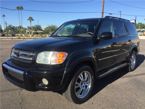 2004 toyota sequoia for sale el paso tx. Black Bedroom Furniture Sets. Home Design Ideas