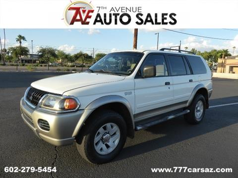 2002 Mitsubishi Montero Sport for sale in Phoenix, AZ