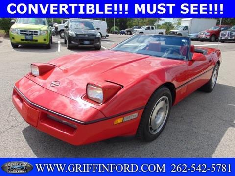 1987 Chevrolet Corvette for sale in Waukesha, WI