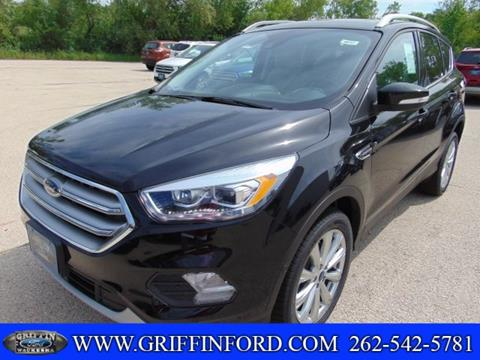 2017 Ford Escape for sale in Waukesha, WI