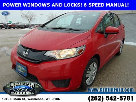 2015 Honda Fit for sale in Waukesha, WI