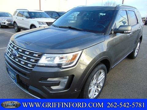 2017 Ford Explorer for sale in Waukesha, WI