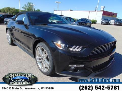2017 Ford Mustang for sale in Waukesha, WI
