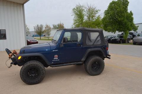 2003 Jeep Wrangler for sale in Oklahoma City, OK