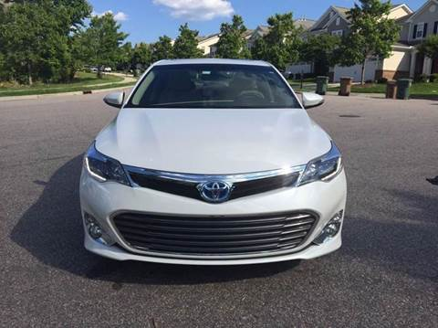 2015 toyota avalon for sale raleigh nc. Black Bedroom Furniture Sets. Home Design Ideas
