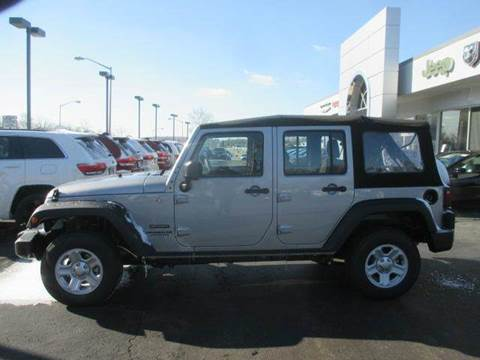 2015 Jeep Wrangler Unlimited For Sale >> New 2015 Jeep Wrangler Unlimited For Sale In Clarksburg Wv