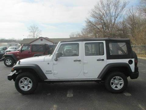 2013 Jeep Wrangler Unlimited for sale in Lebanon, OH