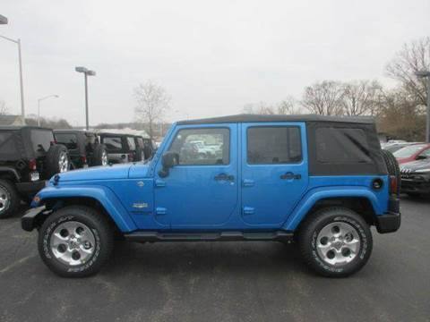 2015 Jeep Wrangler Unlimited for sale in Lebanon, OH