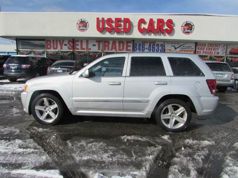 2007 jeep grand cherokee srt8 4dr suv 4wd in dearborn mi ford road motor sales. Black Bedroom Furniture Sets. Home Design Ideas
