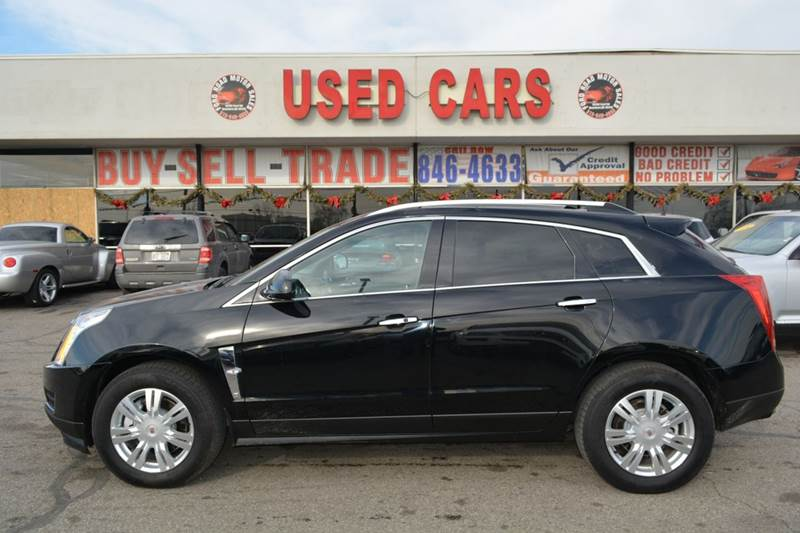 2011 cadillac srx luxury collection awd 4dr suv in dearborn mi ford road motor sales. Black Bedroom Furniture Sets. Home Design Ideas