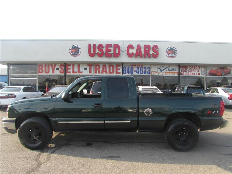 2003 chevrolet silverado 1500 z71 4dr extended cab 4wd lb for Motor city towing dearborn