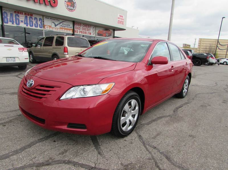 2008 toyota camry le 4dr sedan 5a in dearborn mi ford road motor sales. Black Bedroom Furniture Sets. Home Design Ideas