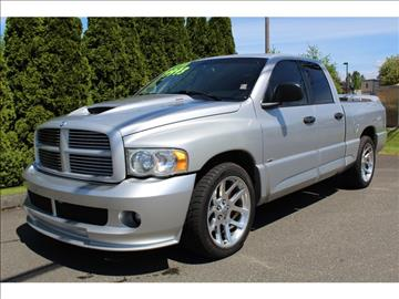 2005 dodge ram pickup 1500 srt 10 for sale. Black Bedroom Furniture Sets. Home Design Ideas