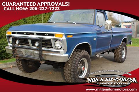 1977 Ford F 250 For Sale In Monroe WA