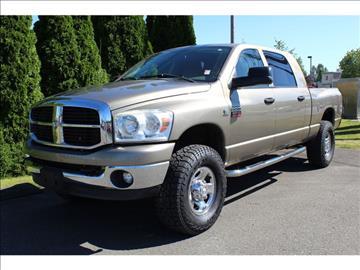 2007 Dodge Ram Pickup 3500 for sale in Monroe, WA