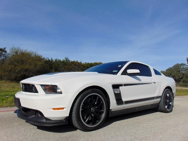 used 2012 ford mustang boss 302 in san antonio tx at rusel felts motor company. Black Bedroom Furniture Sets. Home Design Ideas