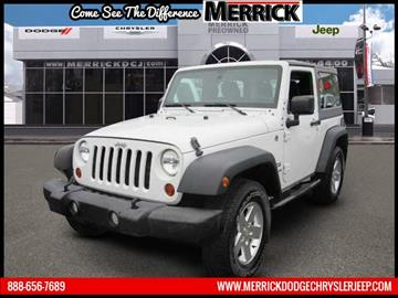 2012 Jeep Wrangler for sale in Wantagh, NY
