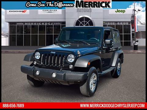 2014 Jeep Wrangler for sale in Wantagh, NY
