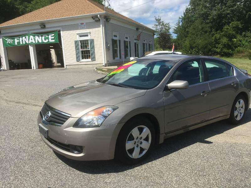 2007 nissan altima for sale in wantage nj. Black Bedroom Furniture Sets. Home Design Ideas